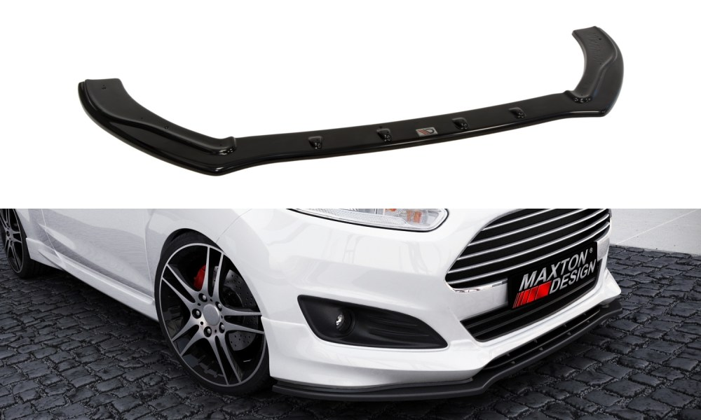 Splitter Przedni Fiesta MK7 ST Line / Zetec S Polift 13+ - GRUBYGARAGE - Sklep Tuningowy